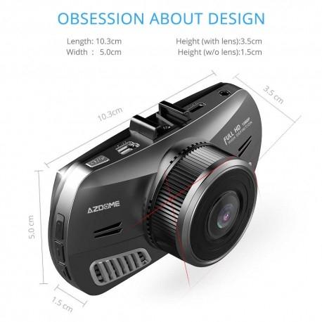 "CAMERA VIDEO AUTO AZDOME M11, DVR FULLHD 1080P, DISPLAY 3"" IPS, UNGHI 170°, SUPER NIGHT VISION 4"