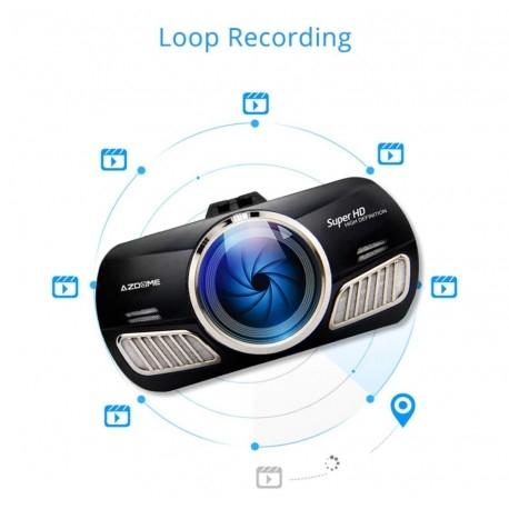 "CAMERA VIDEO AUTO AZDOME M11, DVR FULLHD 1080P, DISPLAY 3"" IPS, UNGHI 170°, SUPER NIGHT VISION 5"