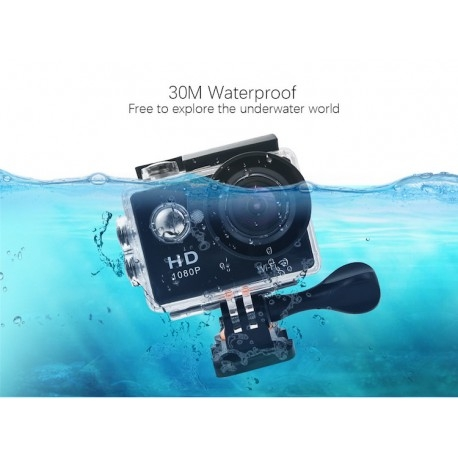 CAMERA VIDEO SPORT ACTION CAM EKEN W9S CU WI-FI DISPLAY 2 INCH CU FILMARE FULLHD SI 4K, WATERPROOF