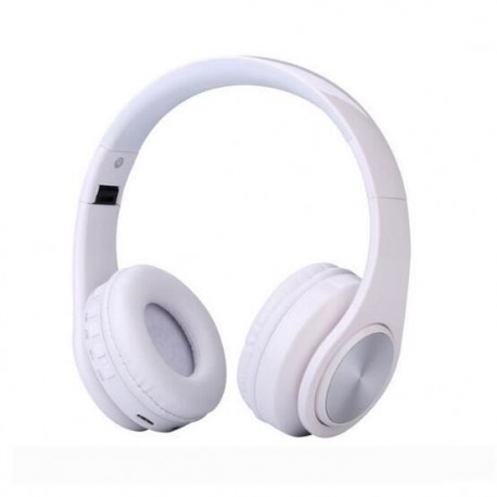 CASTI BLUETOOTH WIRELESS W802 ALB OVER EAR PLIABILE SPORT CU MICROFON INCORPORAT 1