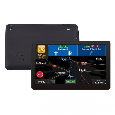 "GPS AUTO TECHSTAR 7"" M9X WINDOWS 512 RAM HARTI ACTUALIZATE 2019"