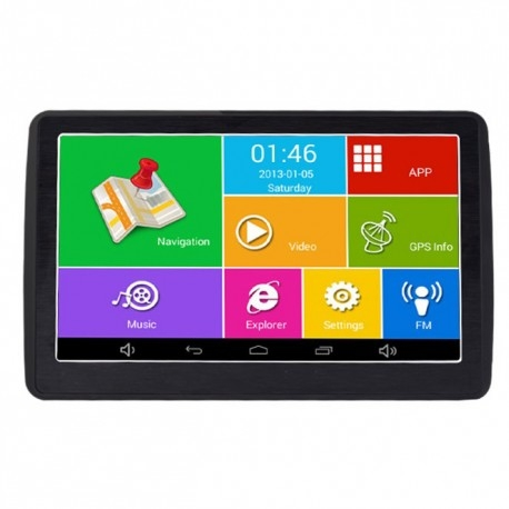 "GPS AUTO TECHSTAR M9X CU ANDROID TABLETA 512RAM WIFI DISPLAY 7"" ACTUALIZAT 2019 2"